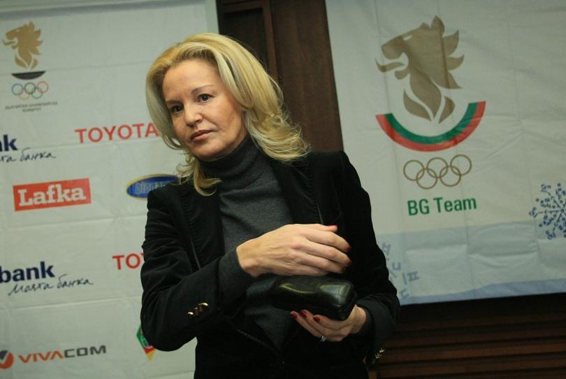 Председателят на Българския олимпийски комитет и прима на световната лека