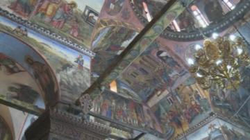 Бачковският манастир посреща Голяма Богородица с обновени стенописи