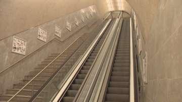 Нехайно отношение към неработещи ескалатори в метрото