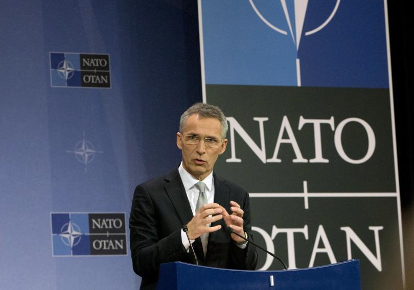 Генералният секретар на НАТО Йенс Столтенберг призова днес за проява