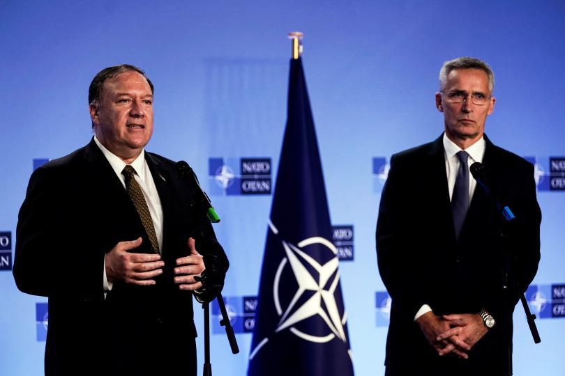 Снимка: Столтенберг и Помпео обсъдиха споразумението за Сирия