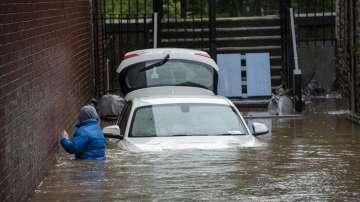 Бурята Денис прекъсна електрозахранването на места в Западна Европа