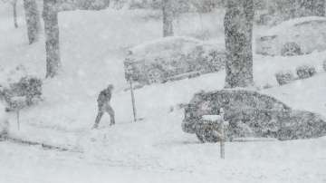 Снежна буря отново връхлетя САЩ