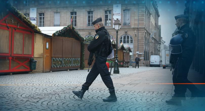 Разследването за стрелбата в Страсбург продължава, след като нападателят Шериф