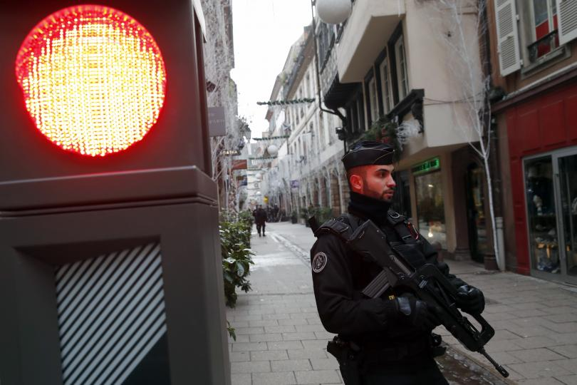 Въпреки терористичното нападение, Европейският парламент продължи днес работата си в