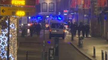 Екип на БНТ от мястото на стрелбата в Страсбург