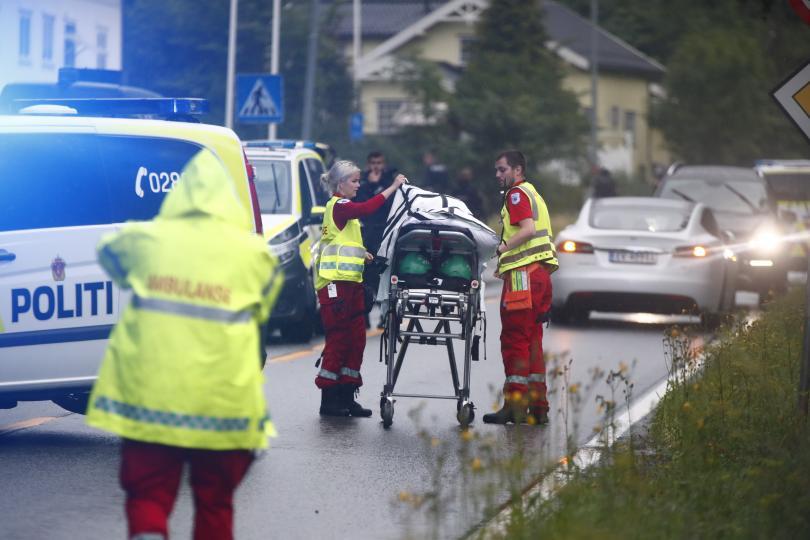 снимка 2 Стрелба в джамия в Норвегия, ранен е човек