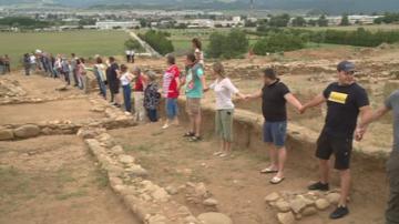 Шествие за спасяване на античното селище Скаптопара