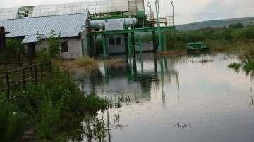 Река Студена преля и наводни стотици декари земеделска земя в Русенско