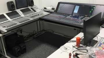 Започна строежът на студиото на БНТ за Олимпиадата в Рио (СНИМКИ)