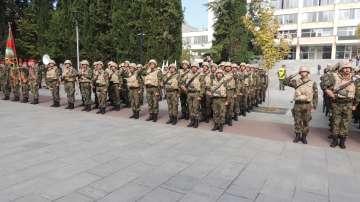 Изпратиха 39-ия военен контингент за Афганистан