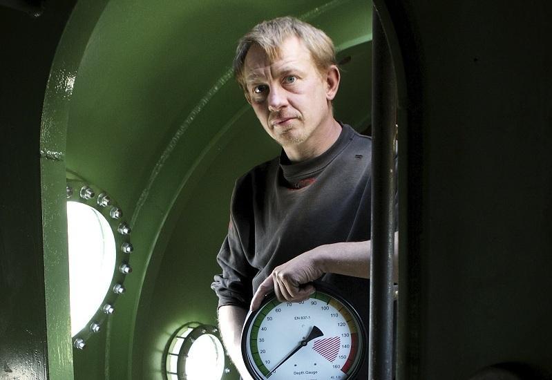 Петер Мадсен, заснет в подводницата си