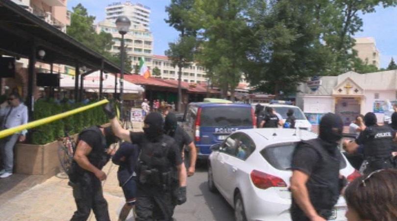 Нови арести по време на възстановката на престрелката в Слънчев бряг