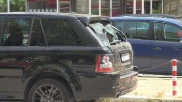 Стрелба с газов пистолет от лек автомобил в Слънчев бряг