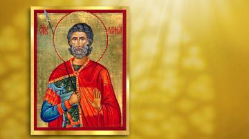 Почитаме Свети Мина - покровител на семейството, сираците и бездомните