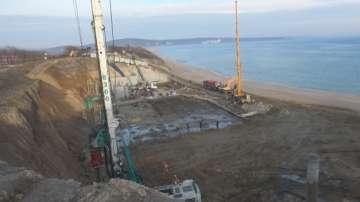 Сигнал за строителни дейности на плажа Св. Тома предизвика проверка