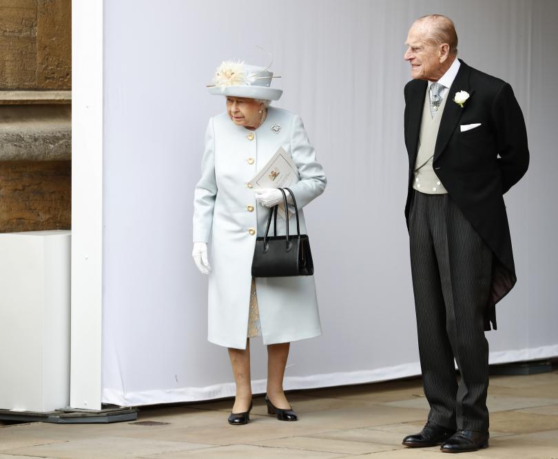 снимка 12 Кралска сватба: Принцеса Юджини каза Да на бизнесмена Джак Бруксбанк