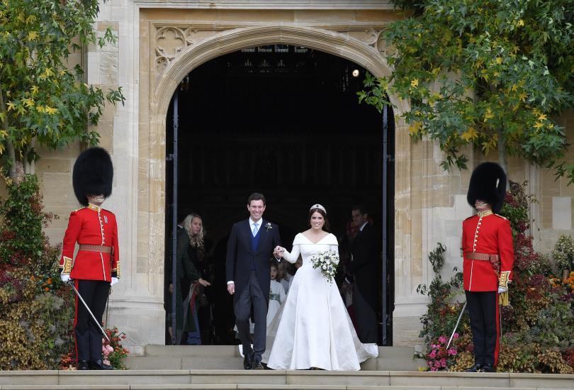 снимка 8 Кралска сватба: Принцеса Юджини каза Да на бизнесмена Джак Бруксбанк