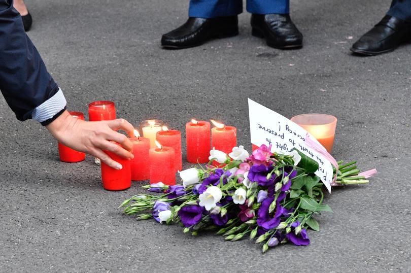 снимка 1 Журналист е рискована професия, дори в Европа