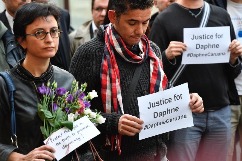 снимка 2 Журналист е рискована професия, дори в Европа