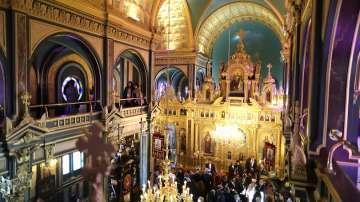 Няма щети във вътрешността на Желязната църква в Истанбул след проливния дъжд