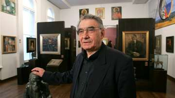 Сбогуваме се с големия художник акад. Светлин Русев