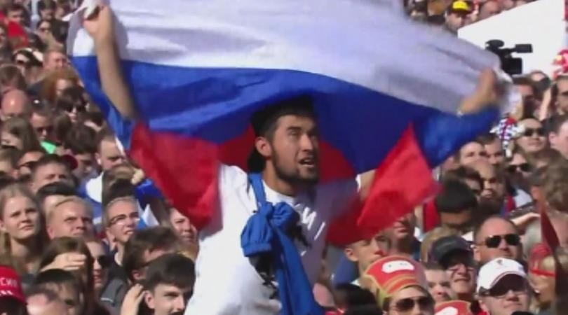 Русия е спечелила от Световното първенство по футбол 13 милиарда