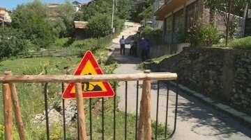 Започна укрепването на свлачището в благоевградското село Плетена