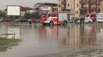 Пороен дъжд предизвика свлачище при моста за Сарафово