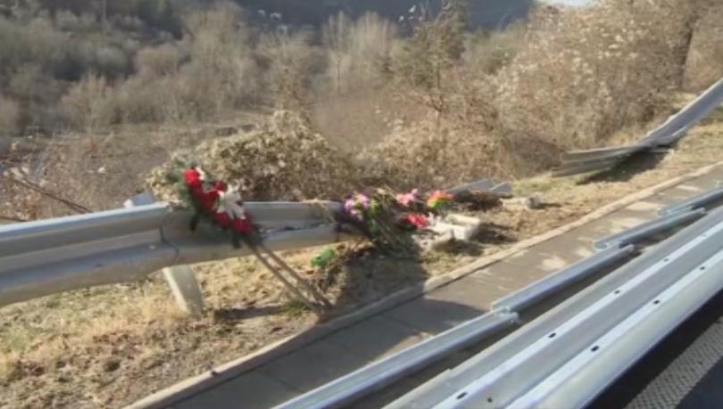Агенция пътна инфраструктура проверява поставянето на мантинели на пътя Своге