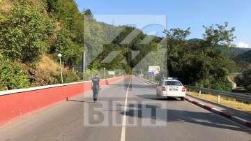 АПИ: Ремонтът на пътя край Своге ще започне след приключване на разследването