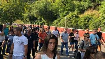 След катастрофата: Жители на Своге излязоха на протест за по-добри пътища