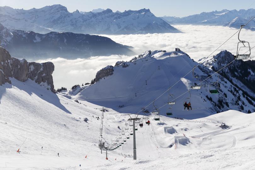 Снимка: Лавина в Алпите затрупа няколко души