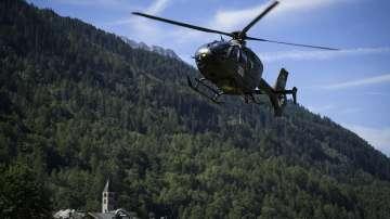 8 изчезнали след скално свлачище в Швейцария