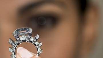 Изключително рядък диамант на търг