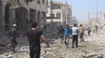 Над 20 души загинаха при бомбардировки в Сирия