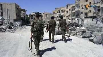 Сирийската правителствена армия превзе последния бастион на ИД в Хомс