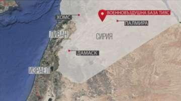 Русия и сирийското правителство обвиниха Израел за въздушен удар в Сирия