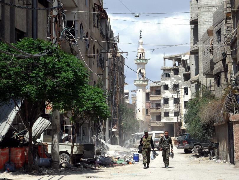 иран подкрепи сирия чужда агресия
