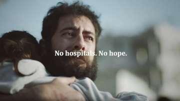 Червеният кръст с разтърсващо видео срещу атаките на болници в зони на конфликти
