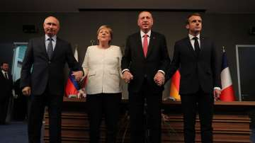 Какво се договориха Ердоган, Путин, Меркел и Макрон за Сирия