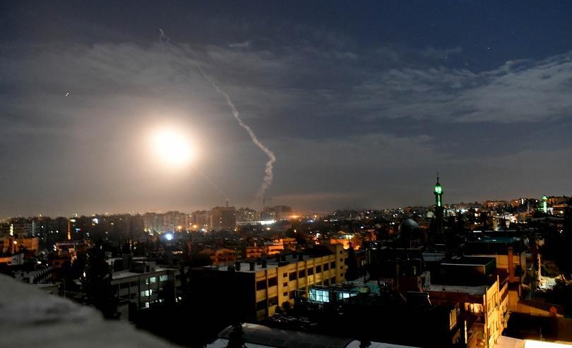 Снимка: Израел нанесе удари по ирански мишени в Сирия