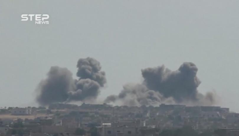 Армията на сирийския президент Башар Асад, подпомагана от руски сили,