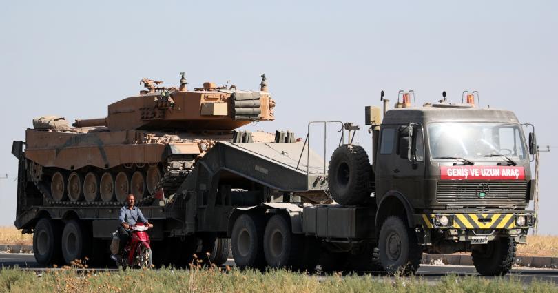 """Турското министерство на отбраната съобщи, че досега при операцията """"Мирна"""