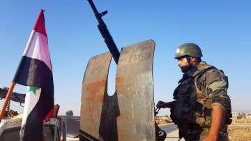 Сирийски войски заемат позиции на десетки километри от границата с Турция