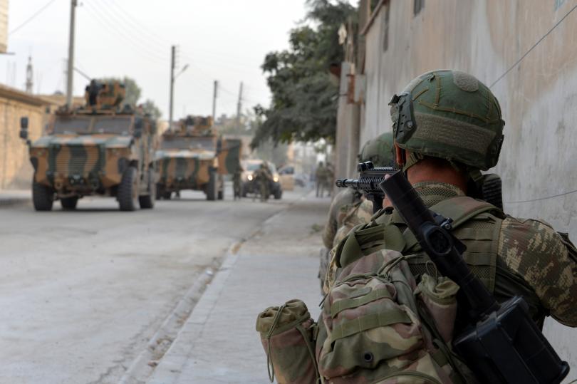 Снимка: Американски военни се изтеглиха от най-голямата си база в Сирия