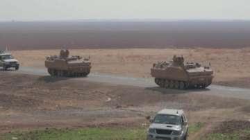 Кюрдските сили са се изтеглили предсрочно от зоната за сигурност в Сирия