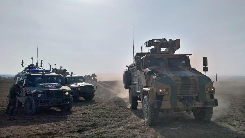 тежки боеве сирийски турски войски