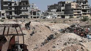 Спад на насилието в Сирия след прекратяването на огъня