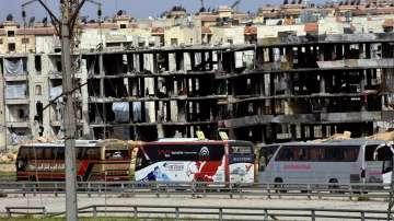 Силен взрив край международното летище на Дамаск